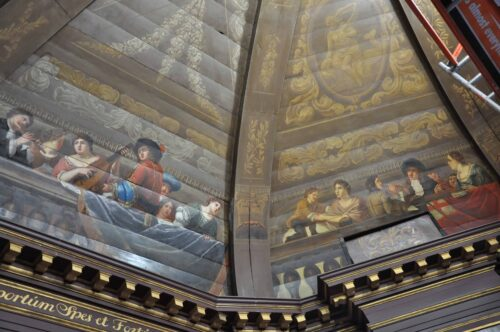 restauratie schilderijen -  interieur- atelier iddi - den haag - zuid holland